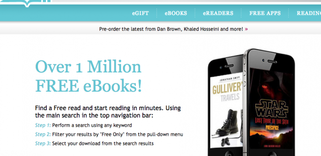 Kobo One Million Free Books